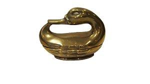 Bomboniere Potiche Em Bronze Pato Marreco