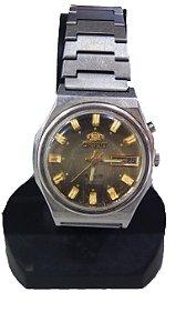 Relógio De Pulso Automático Orient Dourado Déc 80