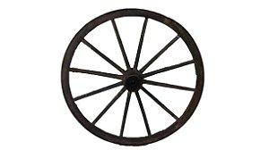Roda de Carroça Madeira Antiga