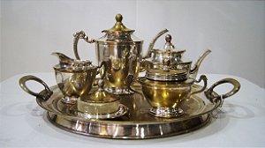 Serviço Para Chá E Café De Prata Eberkoc