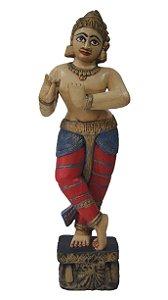 Escultura estatua krishna Indiana 100cm