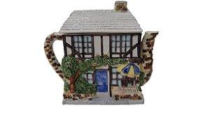 Bule Decorativo Em Porcelana Casa Suíça