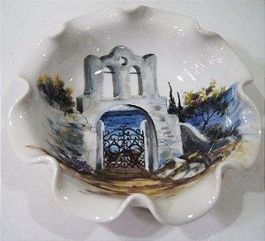 Fruteira Espanhola Porcelana Pintado a Mão