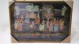 Quadro Decorativo Tapeçaria Indiana 80x115