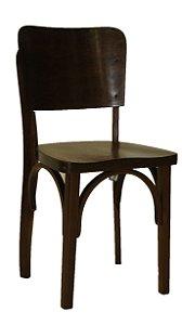 Antiga Cadeira De Madeira Imbuia Modelo Escolar Cimo