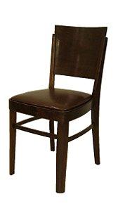 Antiga Cadeira De Madeira Imbuia Móveis Cimo Com Assento