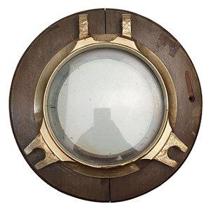 Escotilha de Navio Original Em Bronze