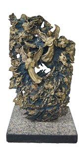 Escultura Anjos em Bronze - Por Tonny