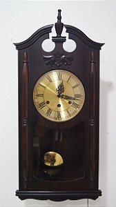 Relógio De Parede Silco Carrilhão Madeira De Imbuia