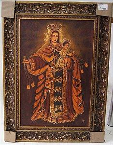 Quadro Cusquenho Santa Maria