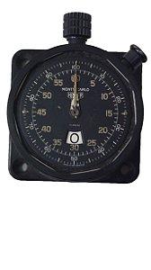 Cronometro Analógico Monte-Carlo Heuer de Carro Preto