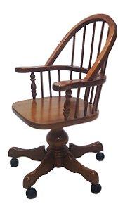 Cadeira Giratória Para Escritório Com Rodinhas