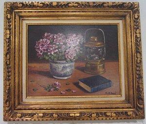 Quadro Pintura a Óleo M.Al.Abbal