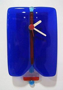 Relógio De Parede Hechinger Alemão Quartz Azul