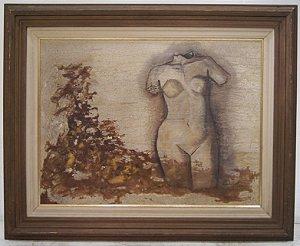 Quadro Pintura Waleska Appel Afrodita de Circue 1997