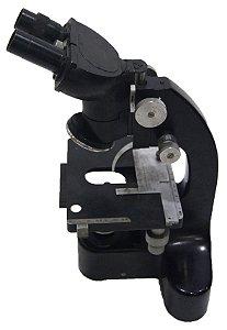 Microscópio Preto Eleitz Wetzlar Germany Só Para Decoração