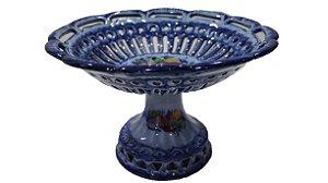 Vaso Fruteira Em Porcelana Alcobaça Portuguesa