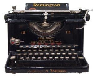 Maquina De Escrever Datilografia Remington 12