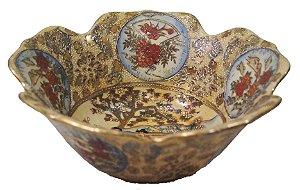 Fruteira De Mesa Em Porcelana Chinesa