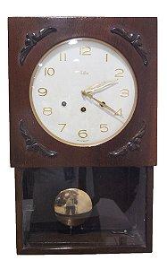 Relógio De Parede Carrilhão Silco Retangular