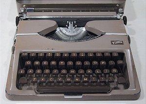 Antiga Maquina de Escrever Tippa Alemã Rara
