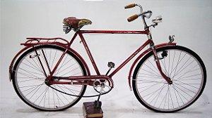 Bicicleta Mercswiss De Luxo Vermelha e Branco