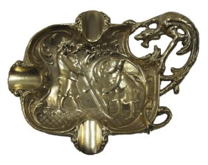 Cinzeiro De Bronze Eberle Estilo Art Nouveau