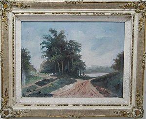 Quadro Pintura a Óleo F. Bonotti