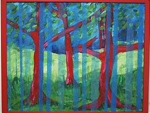 Quadro Floresta Arte Moderna
