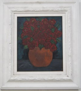 Quadro Rosas Vermelhas Rosana Ortiz