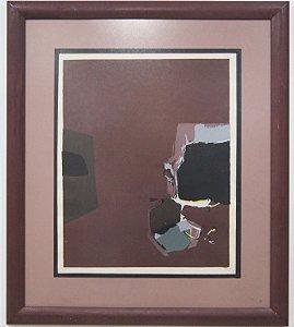 Quadro Celso Izidoro Abstrato