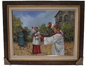 Quadro Coroinhas Igreja - Nilson Müller 2003