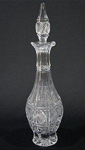Licoreira De Cristal Tcheco 40cm