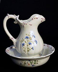 Gomil em Porcelana Italiana Pintada À Mão