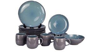 Aparelho de Jantar HomeTrends Porcelana 28 peças