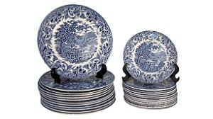 Aparelho de Jantar Inglês Porcelana EIT 24 Peças