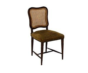 Cadeira de Imbuia Com Encosto De Palinha