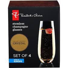 Conjunto 08 Taças Champagne President's Choice