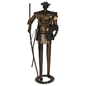 Escultura Em Ferro Dom Quixote