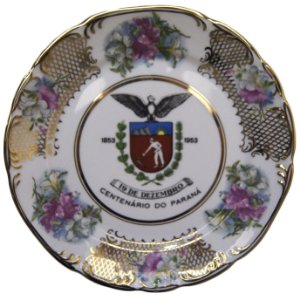 Prato De Parede Centenário do Paraná 1953 Schmidt