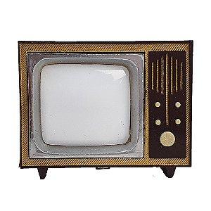 Souvenir Miniatura TV 14 Imagens Coloridas Com Caixinha
