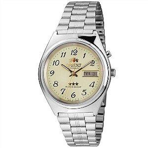 Relógio Orient Automático V. Champanhe 469WB1-RF