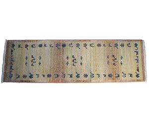 Tapete Persa Gabbeh Egípcio 228x69cm