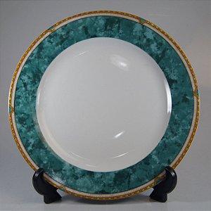 Prato para Bolo em Porcelana Invitations Decorado