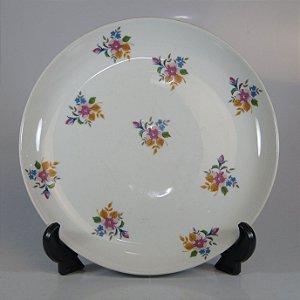 Prato em Porcelana SRS Decorado
