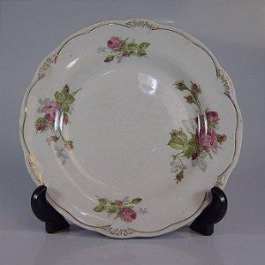 Prato de Sobremesa em Porcelana Wood&Sons Floral