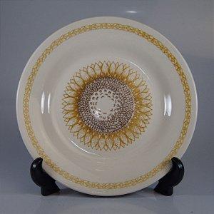 Prato em Porcelana Oxford Decorado