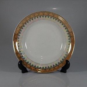 Prato em Porcelana Schmidt Decorado