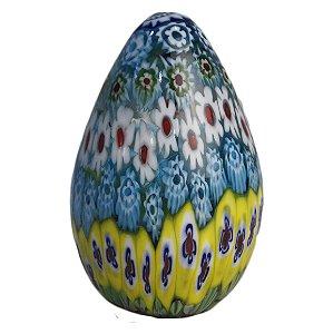 Pêssanka Ovo De Galinha em Vidro - Arte Ucrânia