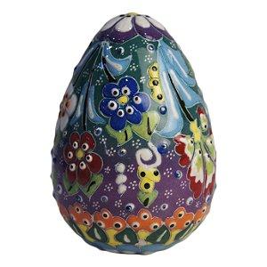 Pêssanka Ovo De Galinha Em Cerâmica - Arte Ucrânia
